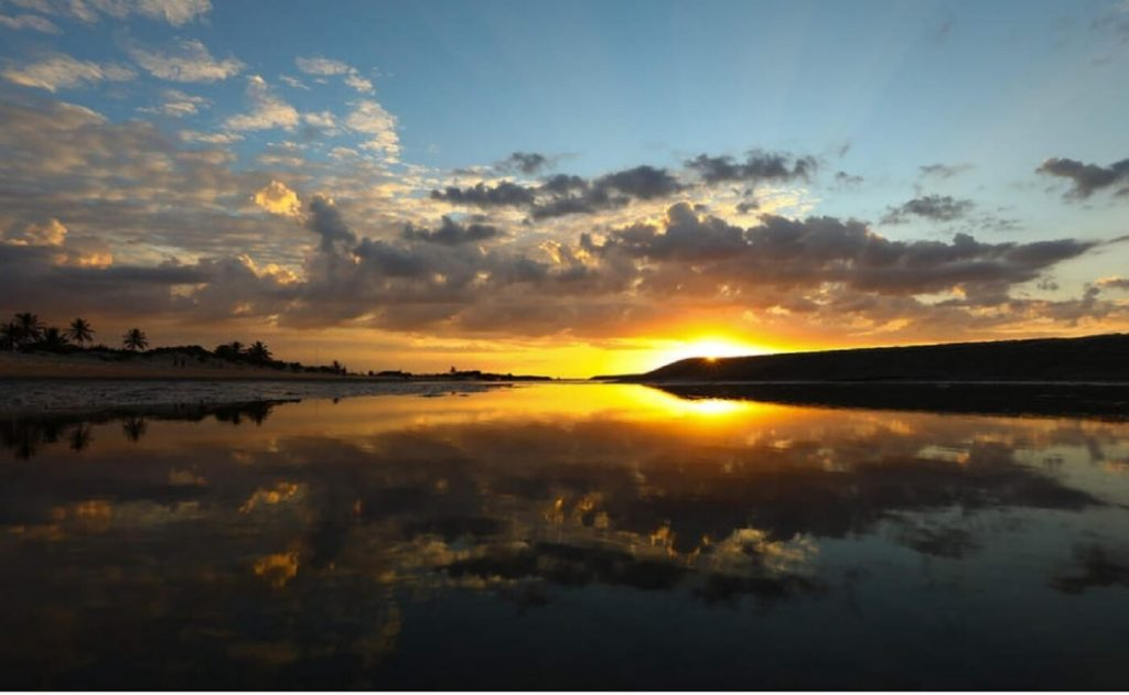 Atins, Maranhão - por do sol nos lençóis maranhenses
