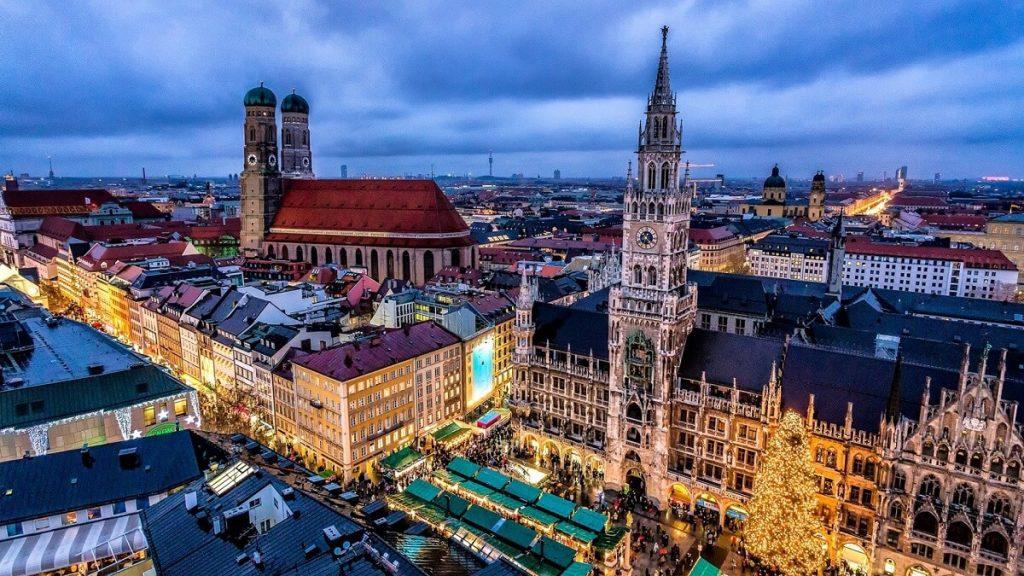 Vista de Munique
