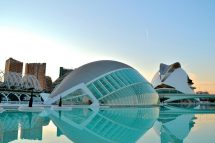 Ciudad das Artes y Ciências de Valencia