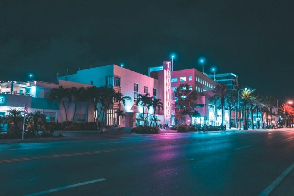 Miami street, Miami, Florida
