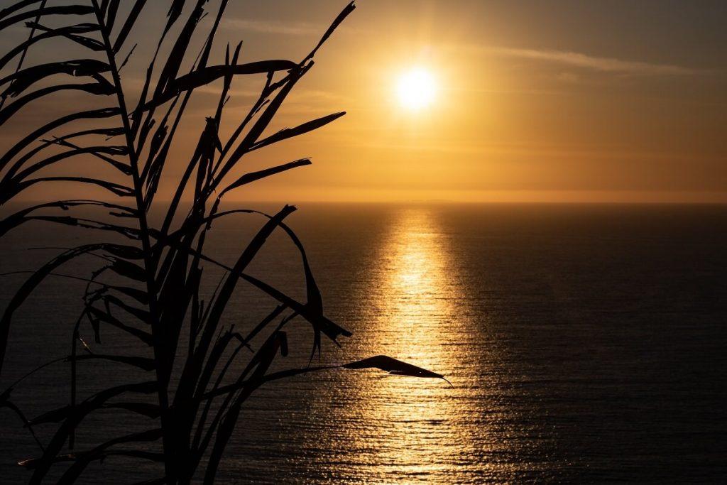 Por do sol em Tulum